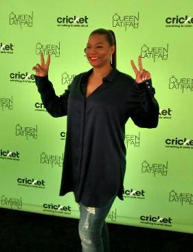 Queen Latifah - Cricket 2014