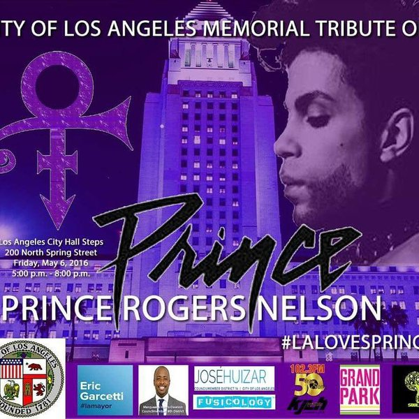 Prince Tribute in Los Angeles
