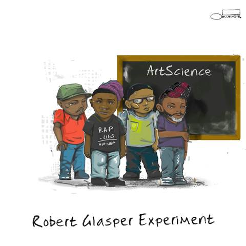 Robert Glasper - ArtScience CD Art Cover